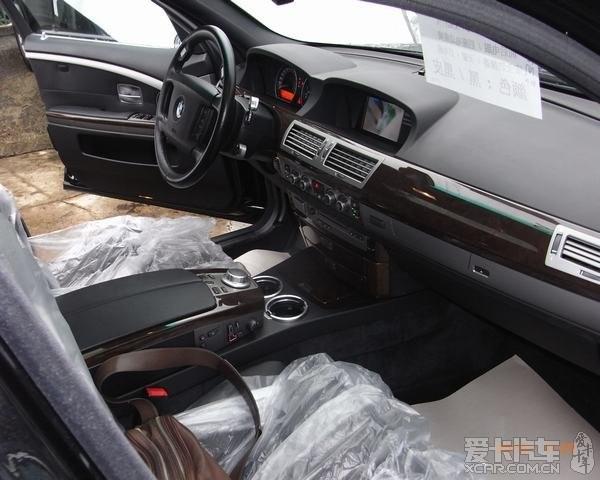出售罕见 08年八成新黑色德国版宝马750IL 最高配 ...