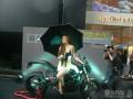 2012香港电单车节上淫照一张不一样的内涵哈雷摩托不一样的文化中天晟蓝牙OBD爱车卡