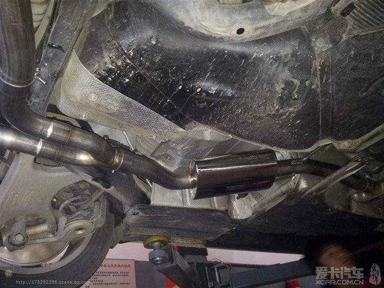 奥迪A5加装美国AWE排气管。-奥迪A5论坛-奥迪a3改装氙气灯多少图片