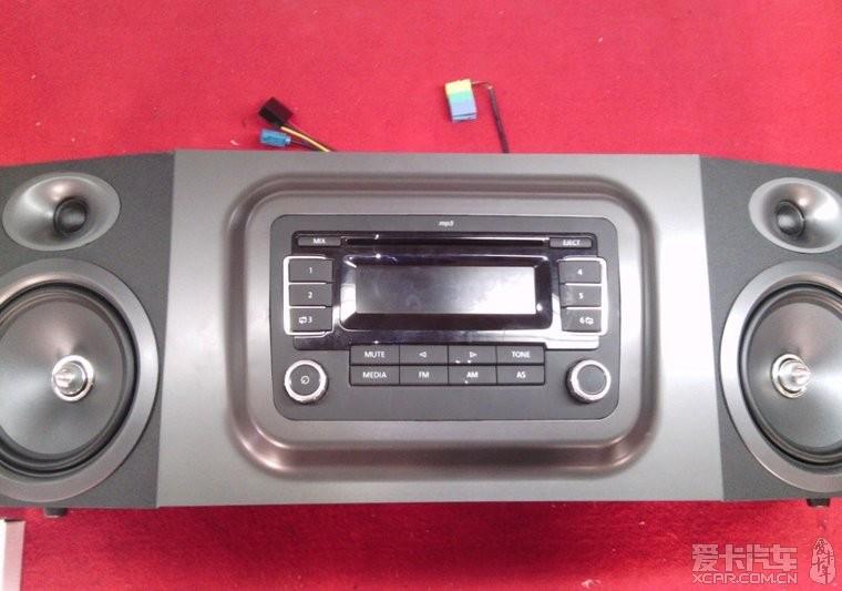 > 大众车载cd机改成家庭音响