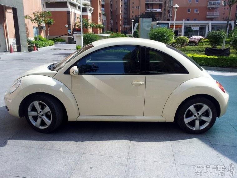 2010年8月米白黑内 甲壳虫 1.6转让 二手车市场高清图片