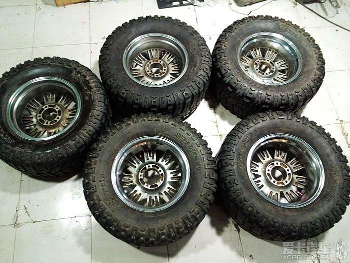 牧马人改装轮毂 牧马人改装大轮毂 jeep牧马人改装轮毂高清图片