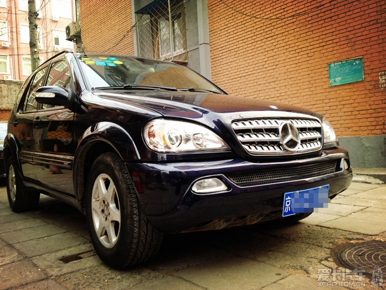 北京个人卖01年新款奔驰ML320(已售) - 二手车