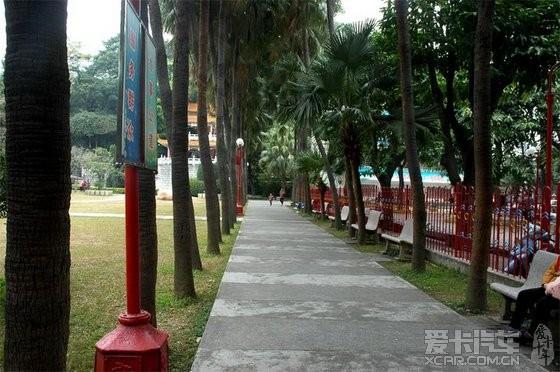 还是先去逛公园吧,人民公园这里有山有水,具有广东公园的特色,小巧