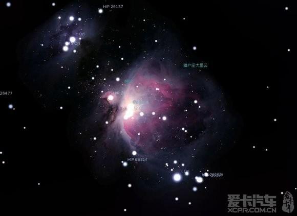 猎户座(orion)是一个非常显著的星座,也许是夜空中最出名的一个.