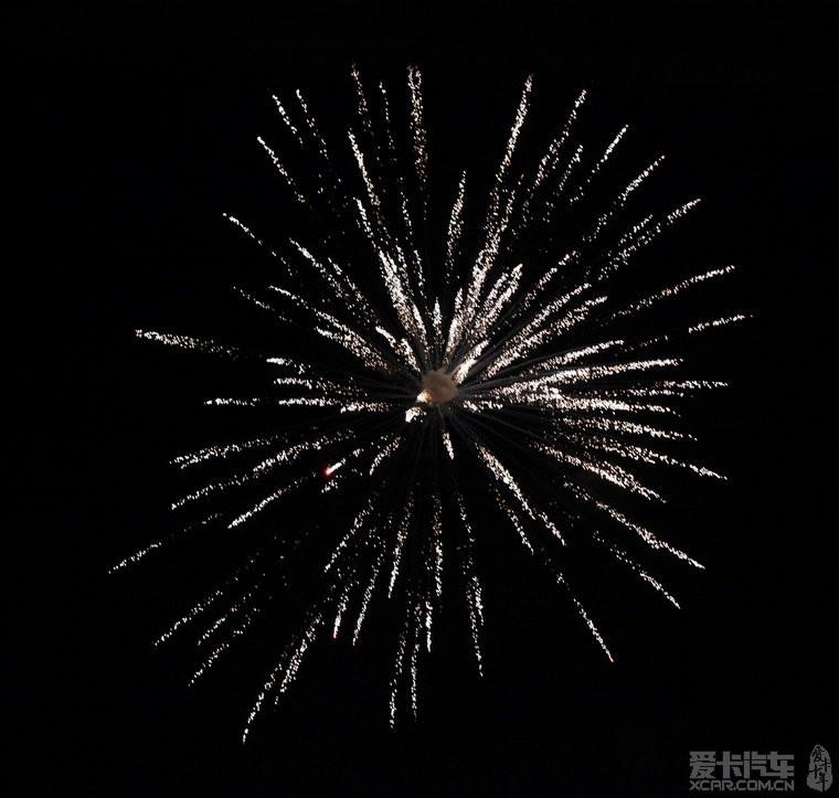 三十儿晚上的烟花,最美!祝老乡们新年快乐,家乡