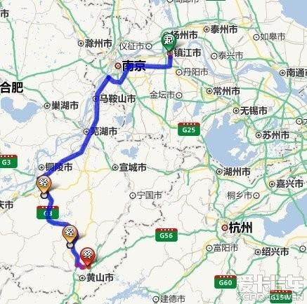 扬州到镇江地图
