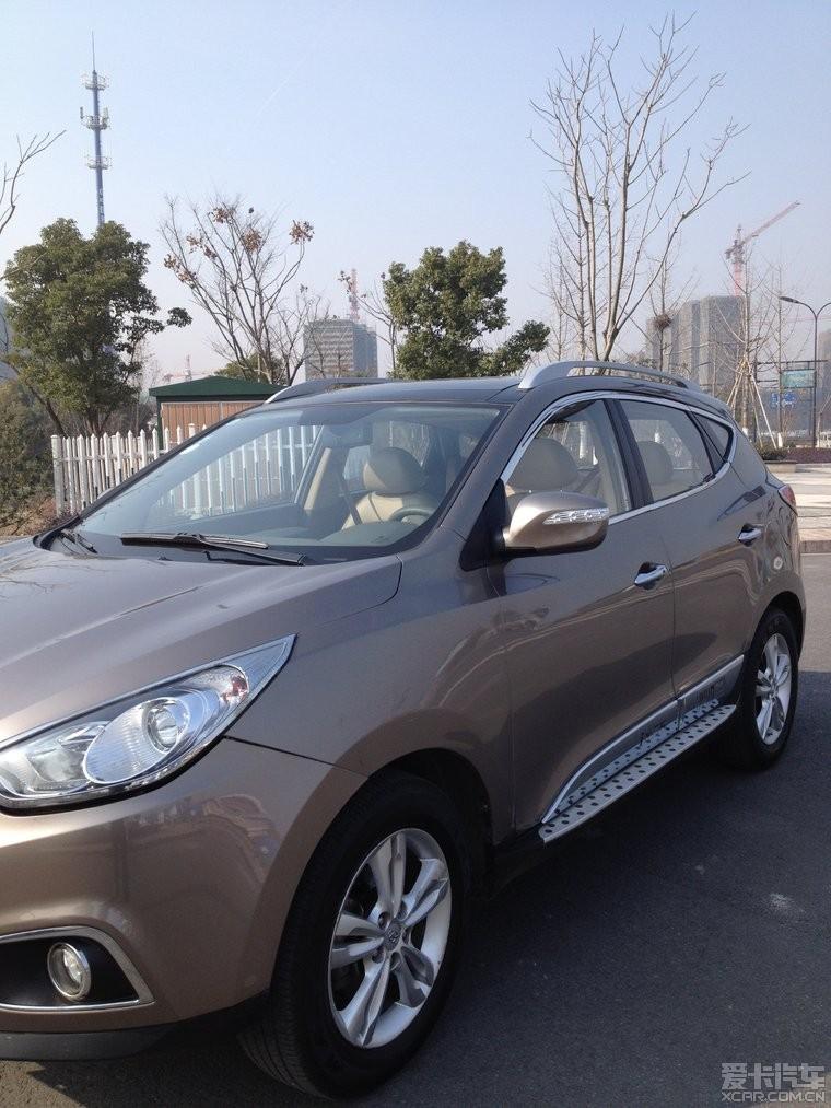 出售 抵押车北京现代越野车8万 二手车市高清图片