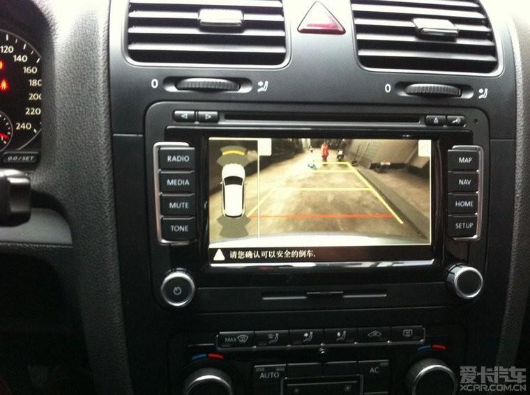 有图有真相 速腾可安装途观动态轨迹倒车影像系统 速腾论坛 XCAR 爱高清图片