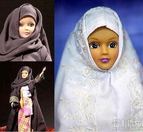玩具是大马士革小孩儿的最爱,其实是芭比娃娃的一种变形,都是中国制造