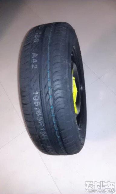 出型号195/65r15 91h 韩泰的轮胎花纹k406和钢圈