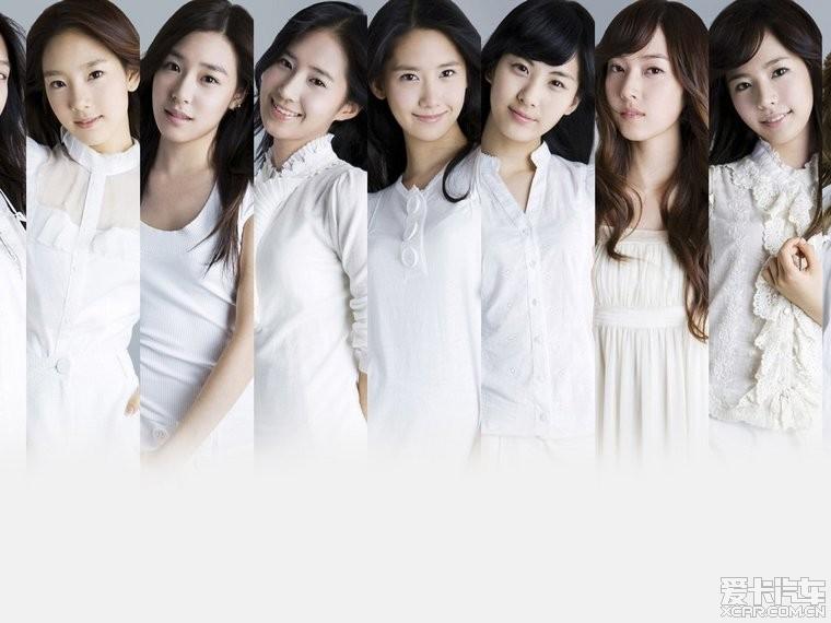 《少女时代组合》清新美丽壁纸 智跑论坛