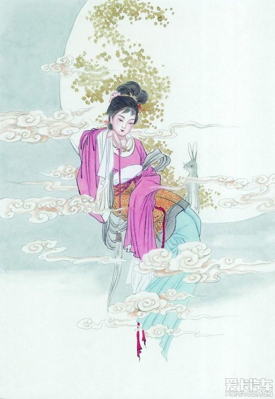 【精华】工笔画古典美女
