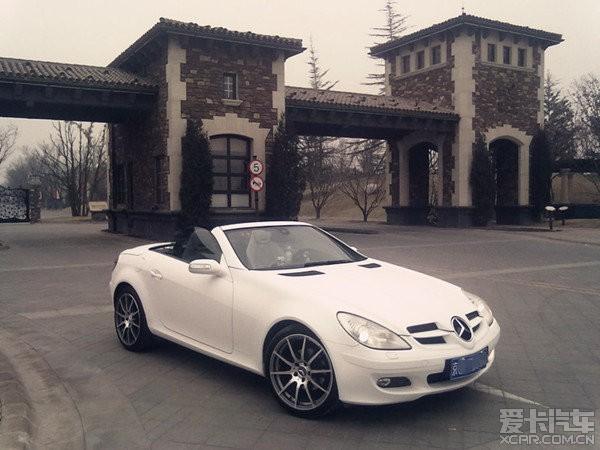 北京出售家庭05年slk200敞篷跑车,必须过户高清图片
