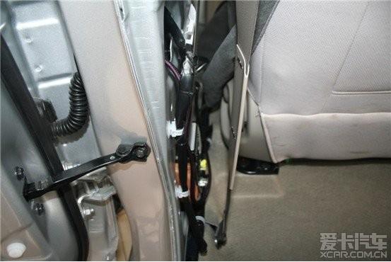 日产阳光汽车音响改装 音响升级德国曼斯特高清图片