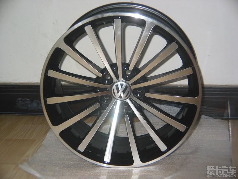 18寸帕萨特顶配轮毂abt改装轮毂 高清图片