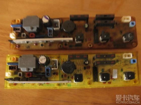 换12年前的松下洗衣机xqb36-831电脑板