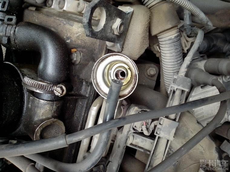 > 今天换了4bar燃油压力阀和废气管,附简单作业图片