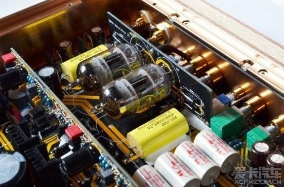 前级增加的英国著名的电子管cv