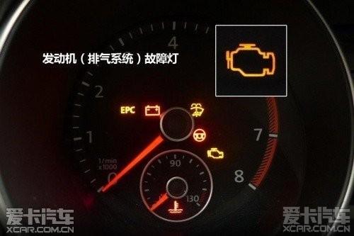 车发动机故障灯_雷诺科雷傲新车发动机故障灯亮
