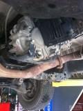 今天下午把前差速器,中央差速器,油液也换掉了!~