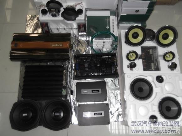 武汉音乐汇英菲尼迪qx56音响改装加隔音高清图片