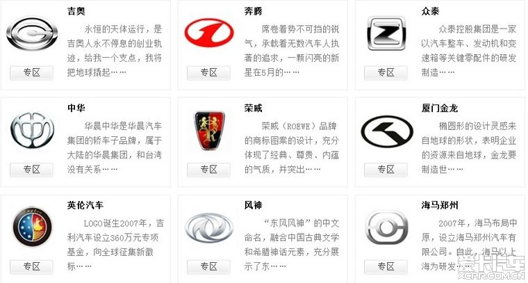 闲来无事,评选一下最丑的国产车车标吧…_北京