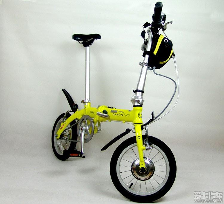 折叠自行车可以改装成电瓶车吗