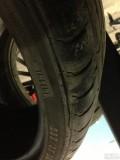 马牌轮胎侧面裂纹