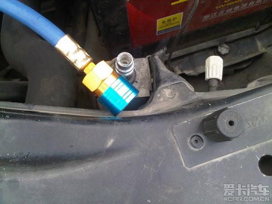 空调diy--自己充氟和检测