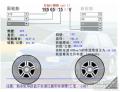 北京09款奇骏的换胎方案