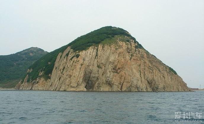 大连三山岛位于市中心以东距陆地6.