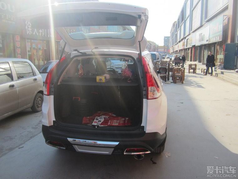 CRV贴新爱卡标志和车友会标志 吉林汽车论坛 XCAR 爱卡汽车俱乐部高清图片