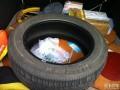小明3W5了,轮胎不小心划伤,泪目换胎纪实。(途虎网购了另外牌子)