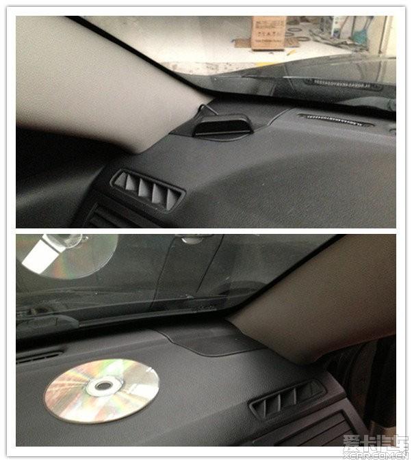 武汉雪弗兰景程以色列摩雷汽车音响改装作业高清图片