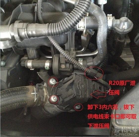 forge一体内外混合泄压阀+apexi原装涡轮机械压力表安装作业图片