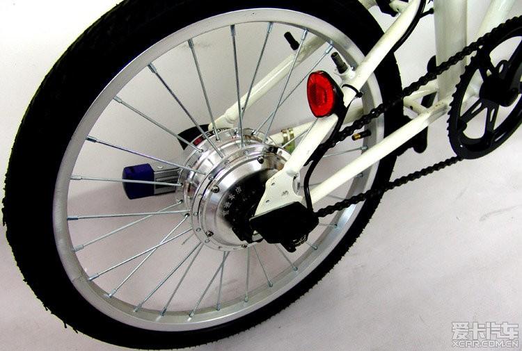 标题 出20寸大行折叠改装锂电车电动自行车白色,深圳自提哦1800全