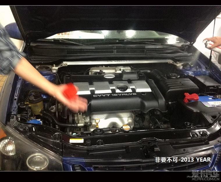 图解发动机外部镀膜全过程