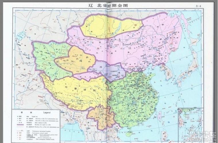 中国地图全图黄河写真