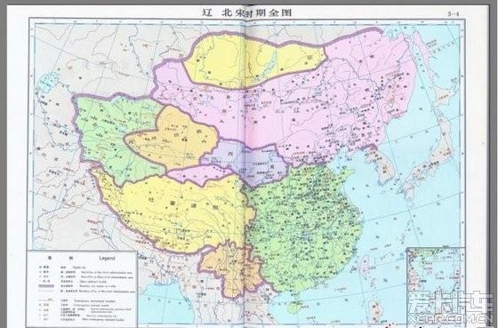 北京论坛 帖子详情             1000年前的地图,还真像公鸡,可是古时
