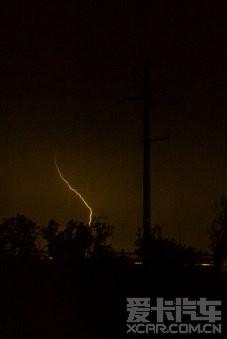 标题 昨夜电闪雷鸣,风雨大作