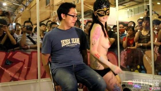 人体 彩绘 美女