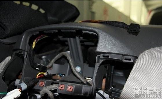 安装影航科鲁兹专用导航,拆装流程说明图