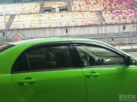 比亚迪上海F1国际赛车场凯旋归来····