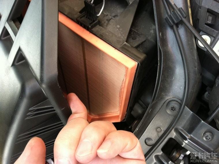 E60自己换空气滤芯和空调滤芯_宝马5系论坛_