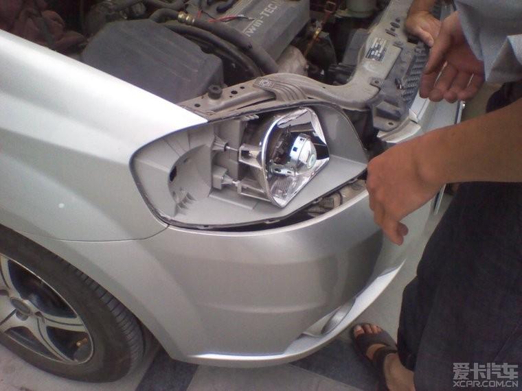 透镜改装完毕,上作业 乐风论坛 xcar 爱卡汽车俱乐部高清图片