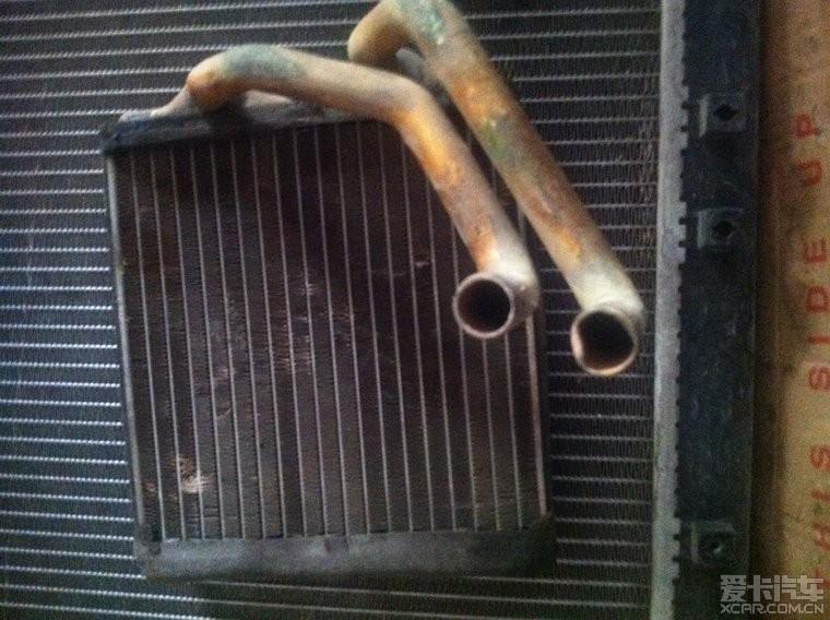 骏捷更换进气管 暖风水箱 冷却水箱 水温传感器 清洗喷油...