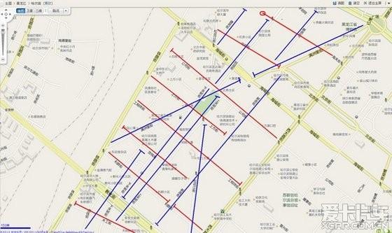 哈尔滨南岗单行道,手绘图!待更新中!