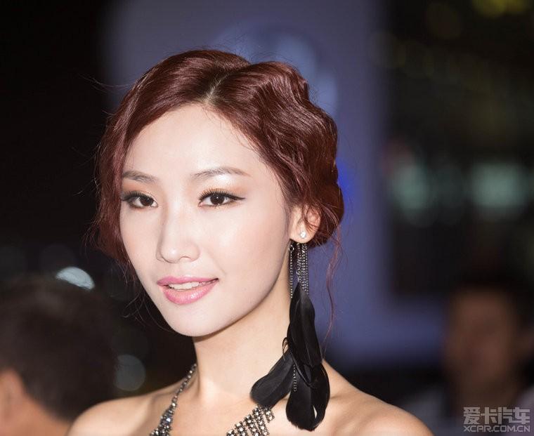 2013重庆车展美女车模赏析 一 ,超清多图 菱帅论坛 xcar 爱