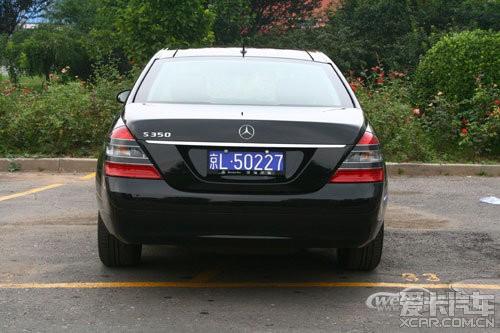 20多万收辆 08款 未改款奔驰S350或S500、S